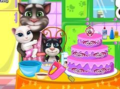 Tom and Family Cake