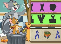 Tom and Jerry Classroom Clean Up