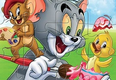 Tom and Jerry Fun Puzzle