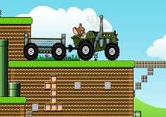 Tom and Jerry Tractor - Jogos Online