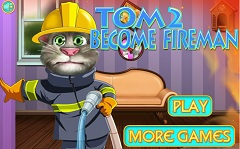 Tom Becomes a Fireman