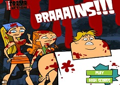 Total Drama Zombie Game