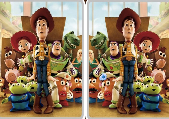 Toy Story Differences 2