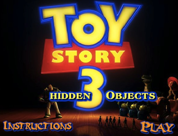 Toy Story Hidden Objects 2