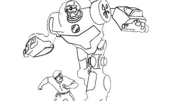 Transformers Rescue Bots Coloring