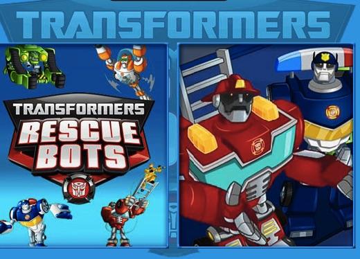 Transformers Rescue Bots Memory