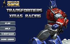 Transformers Winter Motorcycle Racing