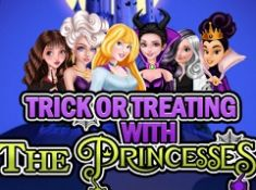 Trick or Treat with Princesses