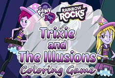 Trixie and the Ilusions Coloring
