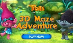Trolls 3D Maze Adventure