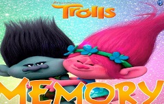 Trolls Memory with Cards