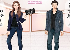 Twilight Couple Dress Up