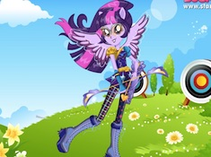 Twilight Sparkle Archery Style