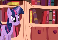 Twilight Sparkle Book Sorting