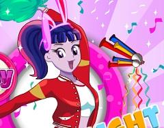 Twilight Sparkle Cheerleader