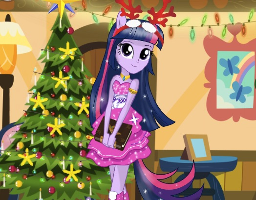 Twilight Sparkle Christmas Preparations