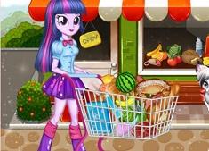 Twilight Sparkle Christmas Shopping