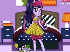 Twilight Sparkle Pajama Party