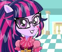 Twilight Sparkle School Spirit Style