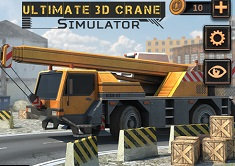 Ultimate 3D Crane Simulator