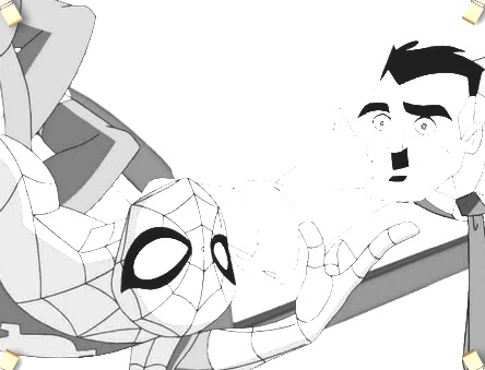 Ultimate Spiderman Coloring 2