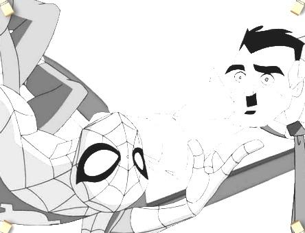 ultimate spiderman coloring 2