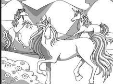 Unicorn Herd Coloring