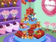 Valentine Store Decoration