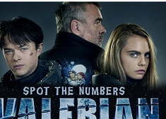Valerian and the City of a Thousand Planets Spot the Numbers