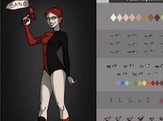 Villain Harley Quinn Dress Up