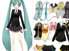 Vocaloid Fashion Style Dress Up