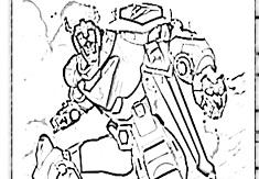 Voltron Legendary Coloring