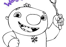 Bobgoblin wallykazam coloring pages coloring pages for Wallykazam coloring pages