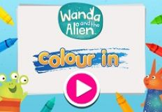 Wandad and the Alien Color In