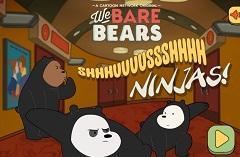 We Bare Bears Shhh Ninja