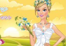 Wearing Flowers Dress Up