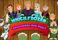 Which Frozen Character Are You