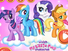 Which My Little Pony… - Jogos Online