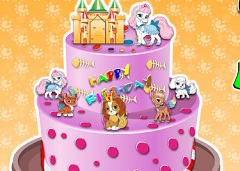 Whiskers Haven Cake Decoration
