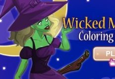 Wicked Midnight Coloring…