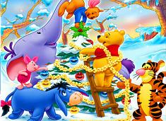 Winnie and Friends Christmas Tree