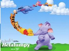 Winnie and Friends Flying…