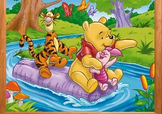 Winnie and Friends Puzzle