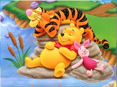 Winnie and Friends Sleeping Puzzle