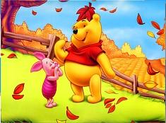 Winnie and Piglet Autumn Puzzle