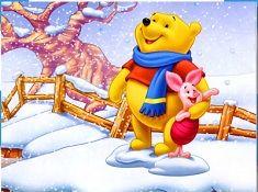 Winnie and Piglet Winter Puzzle