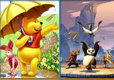 Winnie and Po Similarities
