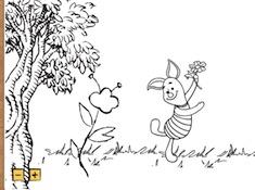 Winnie Coloring Picture Creator