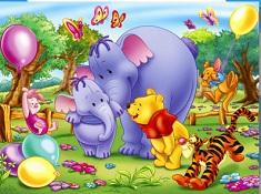 Winnie Elephants Puzzle