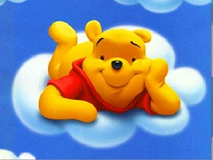 Winnie on a Cloud Puzzle